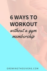 Tired of paying for a gym membership that you don't use? Try a few of these ways to workout without the cost!