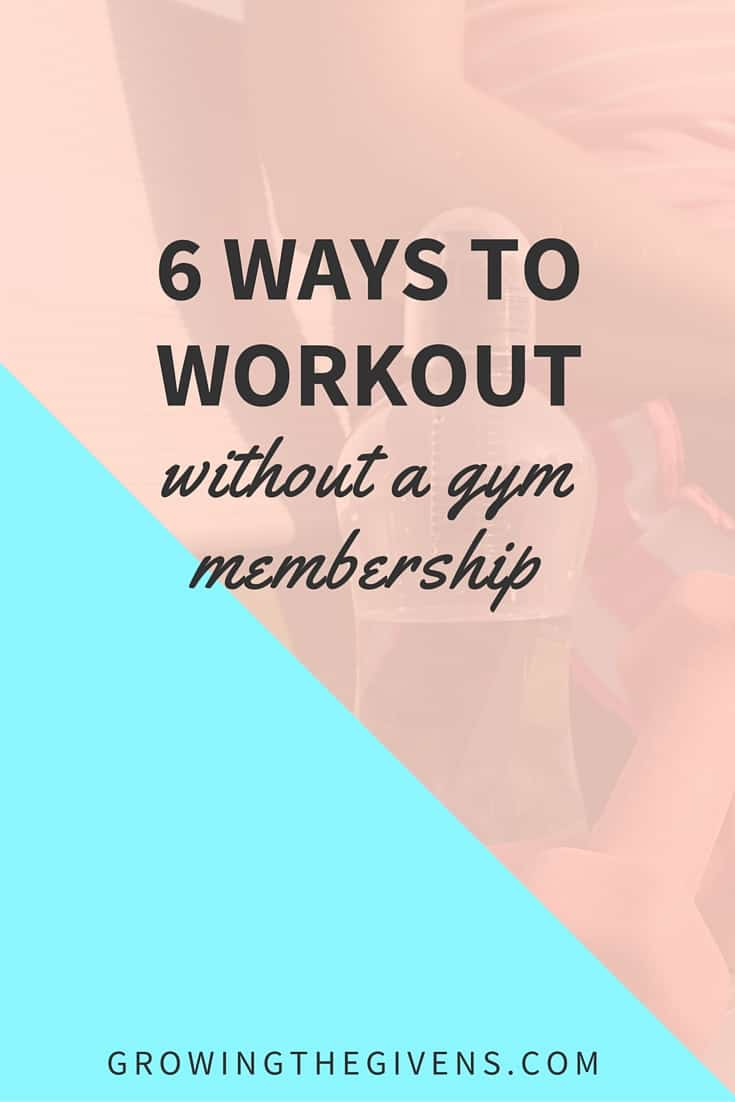 6 ways to workout without a gym membership