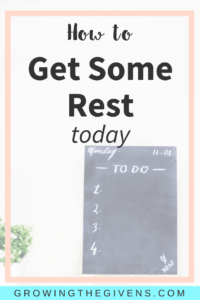 Use these easy tips to get some much needed rest today!
