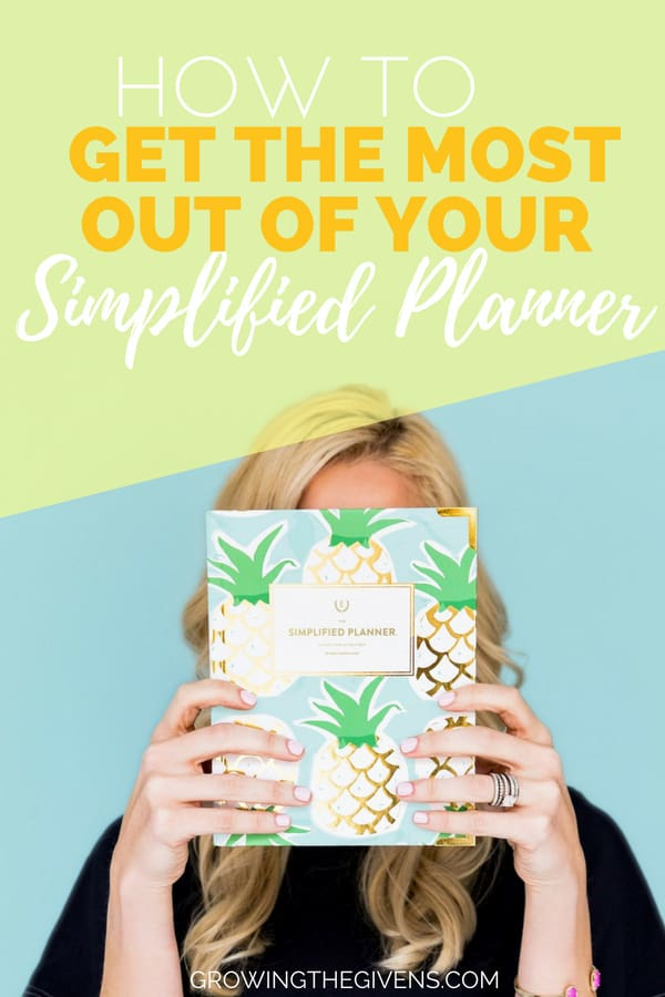 How to Get the Most Out of Your Simplified Planner - After 3 years of using the Emily Ley Simplified Planner (both the daily and weekly versions) I have put together a pretty good list of the best ideas on how to use your planner to simplify your life. I hope this planner helps you as much as it has me! #simplifiedplanner #planner #planneraddict #plannercommunity #plannergirl