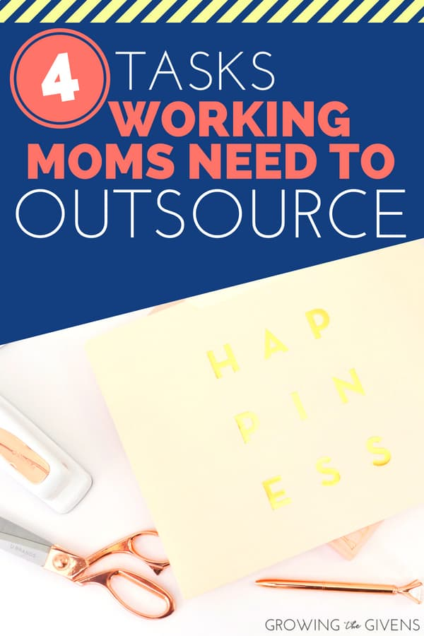 Tasks Working Moms Need to Outsource - As a working mom, you know that achieving balance can be difficult! We can't do it all ladies, so lets find some products that will help us with time-management and organization so we can spend less time  doing meaningless tasks and more time playing with our families!