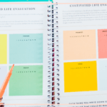 Setting intentional goals for November using the Powersheets Goal Planner from the Cultivate What Matters Shop.