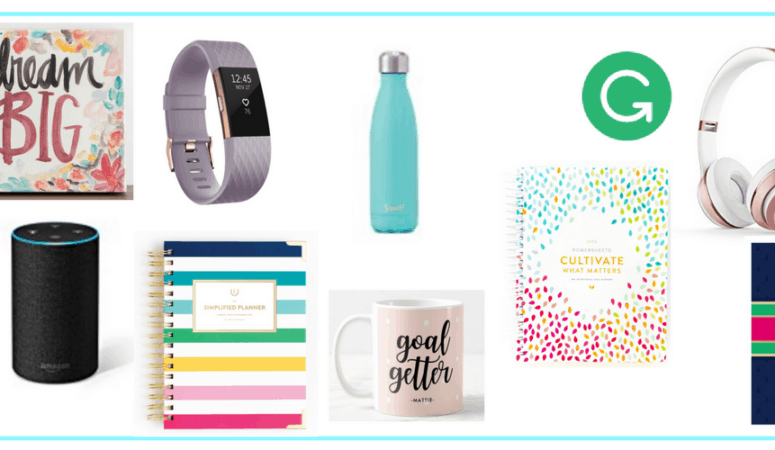 Gift Guide for the Goal Getter