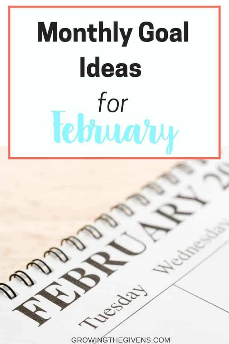 Monthly Goal Ideas for February to help you stay on the right track with your resolutions and goals from the New Year. From Family Activity Ideas to self-improvement classes, we have you covered!