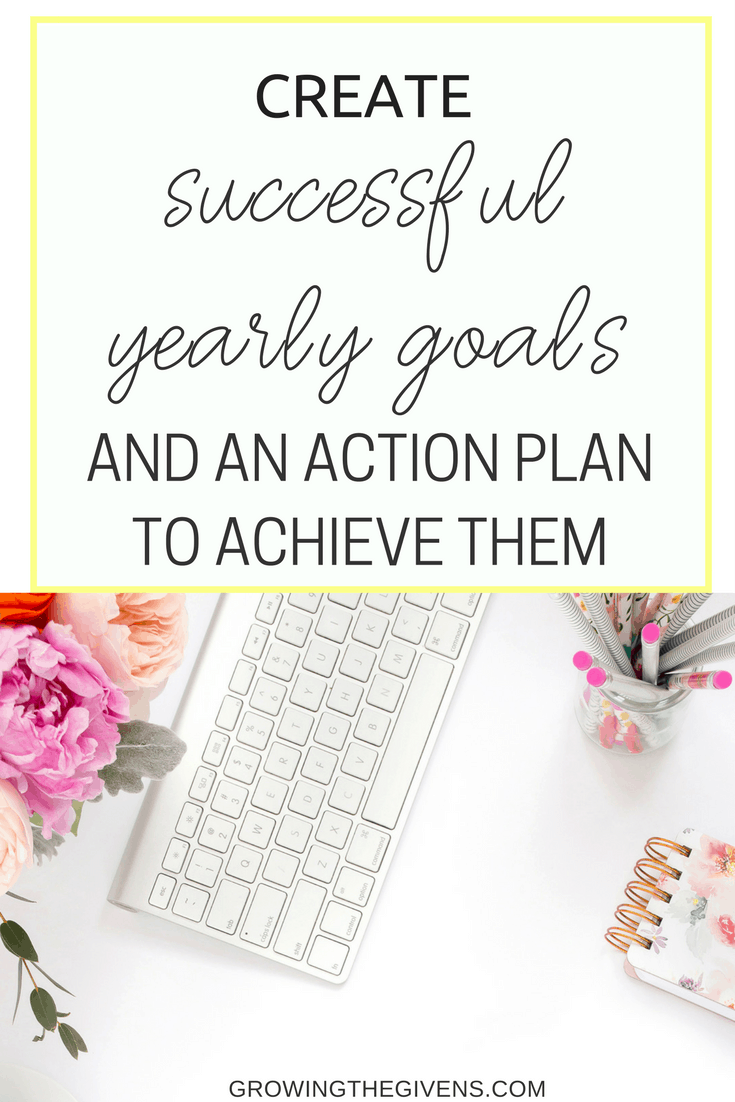 Create a 2018 goals list that works for you all year long! You can set up a successful year right now! 