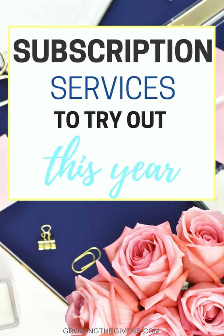 Subscription Services You Need to Try - This list of the best subscription boxes for women has my entire month feeling like treat yo self day. Sharing a few of my favorite monthly subscriptions (you will love #4)!