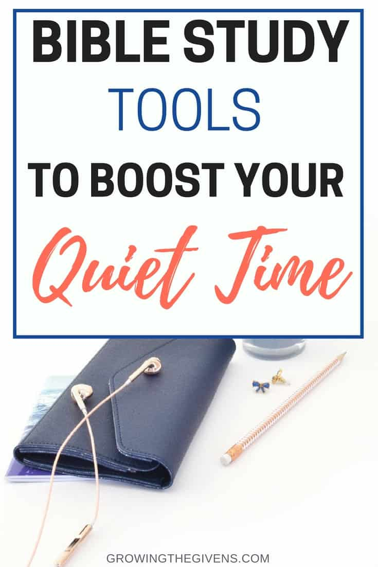 You only really need a Bible and some prayer to have an effective quiet time, but there are always great tools to help you focus and boost your quiet time even more! I get so much more out of my Bible Study time with these tools, tips and quiet time products.