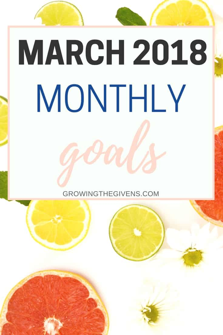 Monthly goals and goal setting ideas for March and spring! Using my best goal setting tool, Lara Casey's Powersheets to make it happen this year.