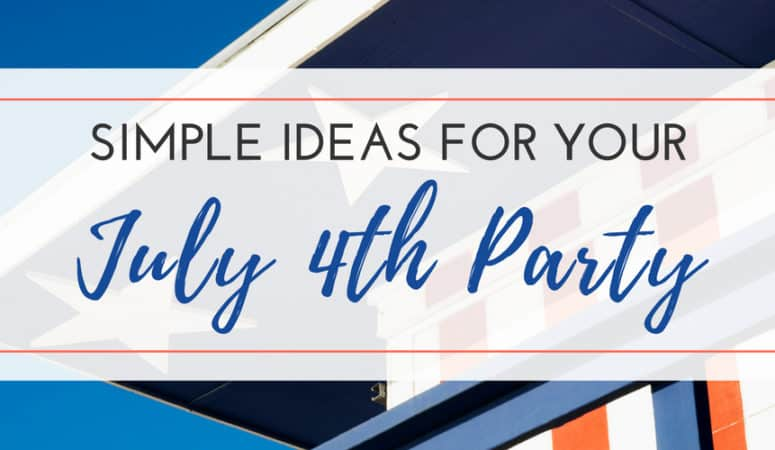 4th of July Outdoor Party Ideas