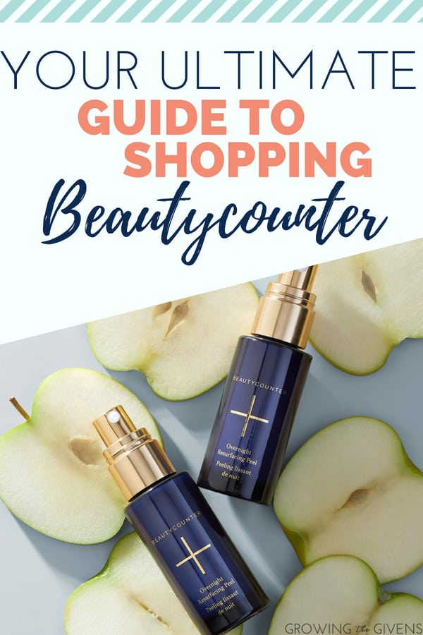 The Best Beautycounter Products - I have become a recent convert to these non-toxic skin care products. The amazing 4 in one product of the cleansing balm, and the facial oil will give your skin care routine a major boost.