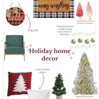 Christmas Decor: Affordable Holiday Home Decorations