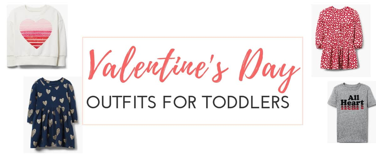 Valentine's Day Outfits for Toddlers
