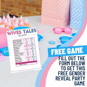 Free Gender Reveal Party Game Download Sign Up Form