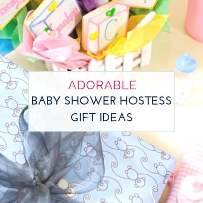 Creative and Inexpensive Baby Shower Hostess Gift Ideas