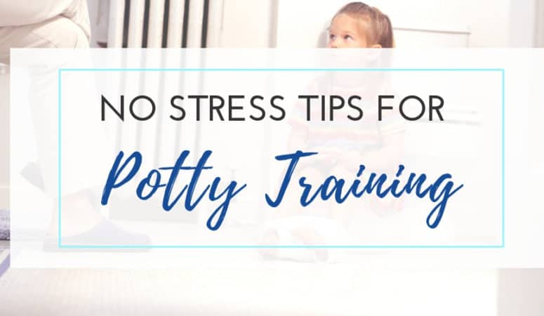 No Stress Potty Training Tips for Girls