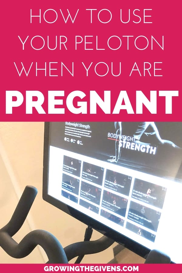 Pregnancy Fitness Using Peloton and Stationary Cycling