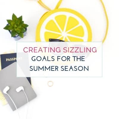 Short Term Goal Ideas for Summer