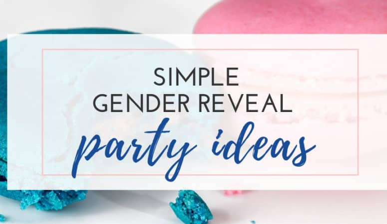 Simple Baby Gender Reveal Party Ideas