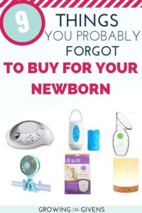 The Best Baby Products for Newborns 0-3 months