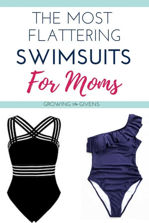5d01d211c3 Let a fellow mama help you out. From flattering one piece swimsuits to the  best swimsuits to hide your tummy – make your swimsuit shopping easy!
