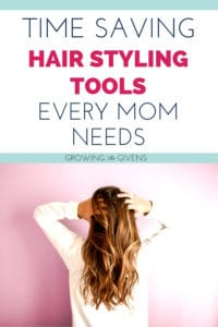 Time Saving Hair Products for Moms
