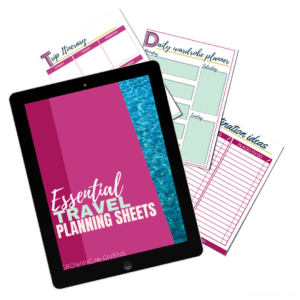Vacation Packing List and Travel Worksheets