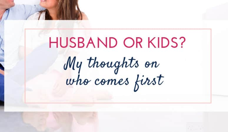 Who Comes First? Spouse or Children?